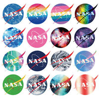 60PCS Stickers Bomb Vinyl Skateboard Guitar Luggage Pack NASA Brand Logo Decals