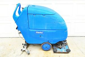 """CLARKE FOCUS 2 L20 20"""" Battery Operated 24v Walk-Behind Floor Scrubber for Parts"""