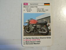 74-MOTORRADER 1B MUNCH 1200 TTS  MÜNCH QUARTETT CARD