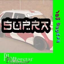 Supra Japon Jdm sticker autocollant OEM power Fun like shocker Dub