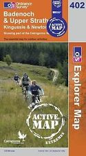 Badenoch and Strathspey - OS Explorer ACTIVE Map 402 (NEW 2007 folded sheet map)