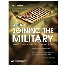 Guide to Joining the Military by Peterson's (2013, Paperback)