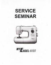 Janome New Home My Excel 4023 Sewing Machine Service Guide Repair Manual