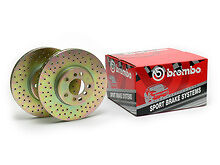 Brembo Sport Drilled Rotors #37048 99 00 01 02 03 04 05 06 07 GMC Chevy Pickup
