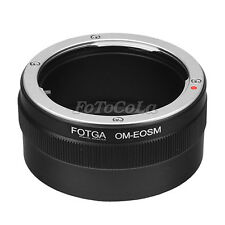 Fotga Adapter Olympus OM mount Lens to Canon EOS M M2 M3 EF-M mirrorless camera