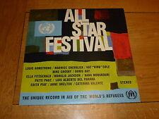 ALL-STAR FESTIVAL - Scarce 1963 UK 12-track mono LP