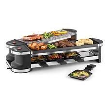 Griglia Elettrica Raclette Carne Bistecchiera Party Grill 8 Persone Idea Regalo