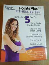 Weight Watchers Points Plus Fitness Series w/ Jennifer Cohen 5 DVD's - sealed!
