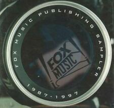 Fox Music Publishing Sampler 1987-1997 PROMO CDs TV Movie Scores 143 tracks song