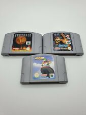 Nintendo N64 Games Bundle - Forsaken, Wave Race, Shadow Man