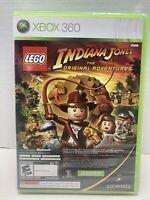 XBOX 360 FACTORY SEALED GAME : LEGO INDIANA JONES + KUNG FU PANDA COMBO
