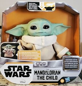"Star Wars Mandalorian 7.2"" The Child Animatronic Edition Grogu Sounds & Motion"
