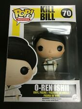 O-Ren Ishii #70 - Kill Bill Funko Pop Vinyl - Rare Vaulted - Very Good Condition