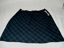 Plaid Mini Skirt  Bais Stretch by No Boundries size 9