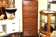 Henredon Fine Furniture Artefacts Collections Campaign Seven Drawer Dresser