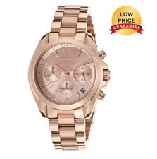 NEW MICHAEL KORS MK5799 ROSE GOLD BRADSHAW STAINLESS STEEL MINI LADIES WATCH