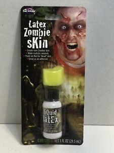 Fake Creepy Skin Halloween Makeup Appliance Flesh Liquid Latex Zombie Fun World