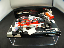 Minichamps F1 Mc Laren Ford M23 Mass Ed 43 n°71 1977 1/43  boxed / en boîte MIB