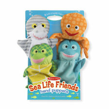 Melissa and Doug Sea Life Friends Hand Puppets - 19117 - NEW!