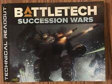 Classic BattleTech: Technical Readout Succession Wars