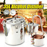 3POT 8 Gal DIY Wine Alcohol Water Distiller Moonshine Still Boiler Stainless US