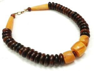 Tibetan Jewelry Resin Beads Handmade Tribal Necklace Banjara Fashion Ethnic Rare