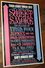 SWEET SMOKE/MICKEY & The SOUL GENERATION Concert Poster! TEXAS and northern funk