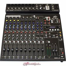 Peavey PV 14 AT Mixing Console with Bluetooth Effects and Antares Auto-Tune