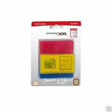 Lot of 3 Nintendo 3DS Game Traveler Essentials Red/Blue/Yellow