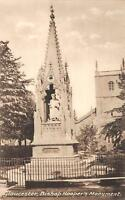 uk23724 bishop hoopers monument gloucester real photo  uk