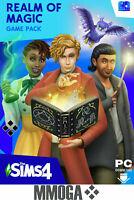 Los Sims 4 Clave del Reino de la Magia Expansión PC EA Origin código de descarga