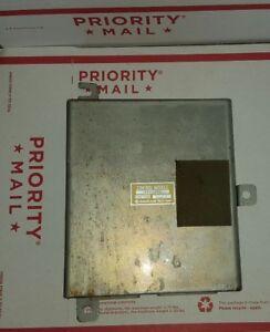 89-93 ISUZU PICKUP ENGINE CONTROL MODULE COMPUTER ECU MANUAL TRANSMISSION 2WD