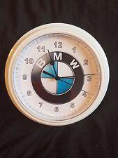 Reloj De Pared Blanco Redondo Reloj Pared Novedad Niños BMW E30, E36, E46, 3,5,7,