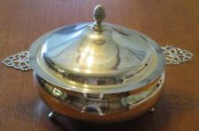 Silverplated Eales 1779 Footed Chafing Dish No Warmer