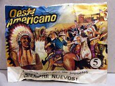 MONTAPLEX Sobre Oeste Western OESTE AMERICANO soldaditos indios cowboys airfix