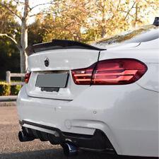 BMW F30 F80 M3 Sedan PSM Style Carbon Fiber Rear Trunk Spoiler Wing Lip