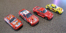 Set of 4 1/43 Burago Bburago Porsche model cars