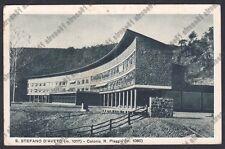 GENOVA SANTO STEFANO D'AVETO 22 COLONIA PIAGGIO Cartolina 1940 viaggiata