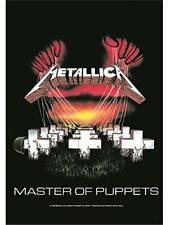 METALLICA Textile poster fabric flag MASTER OF PUPPETS