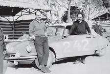 carte postale - CITROËN DS MONTE CARLO 1961. 30ème Rallye