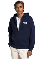 The North Face U.S. of A Full Zip Hoodie TNF size M $60 Navy