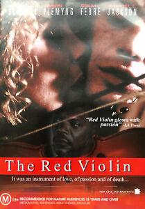 The Red Violin DVD 1998 RARE REGION 4 DRAMA Greta Scacchi