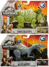 Jurassic World Fallen Kingdom Allosaurus & Sinoceratops Roarivores Dinosaur Set
