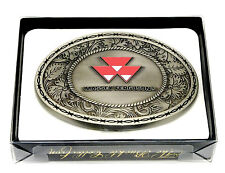 Massey Ferguson Belt Buckle AGCO Tractor Farmer Spec Cast Officially Licensed