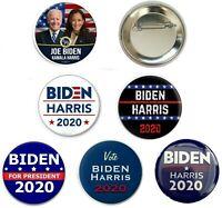 Joe Biden 2020 Campaign Button Set of 6 - 2.25 inch pins