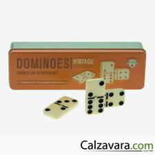 LEGAMI Gioco del Domino in Scatola di Metallo | Playing Cards Vintage