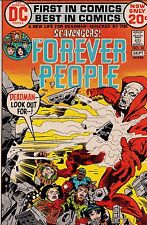 """JACK KIRBY THE FOREVER PEOPLE NUMBER 10 AUG-SEPT 1972 """"A NEW LIFE FOR DEADMAN!"""""""