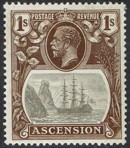 ASCENSION 1924 KGV SHIP 1/-