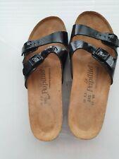 Birkenstock anne, patent black, uk size 5   - B22