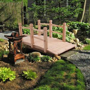 Arch Bridge Small Wooden Bridge Courtyard Outdoor Anticorrosive Wood Landscape B